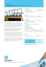 Interlace Blinds, Drawing on Experience, blind and curtain systems