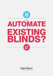 Can we automate our existing blinds - Interlace Blinds, Essex, UK
