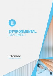 Environmental Statement - Interlace, Blind and Curtain systems, Essex, Suffolk, UK