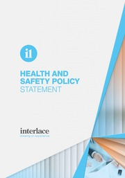 Health and Safety Policy - Interlace, Blind and Curtain systems, Essex, Suffolk, UK