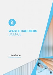 Waste Carriers- Interlace, Blind and Curtain systems, Essex, Suffolk, UK