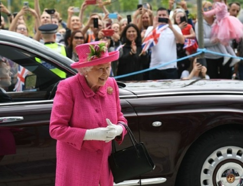 Her Majesty Visits Cambridge